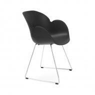 Fotel Testa Kokoon Design czarny