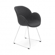 Fotel Textina Kokoon Design szary