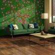 Fototapeta - abstrakcja: drzewo (zielony) A0-LFTNT0829