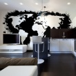 Fototapeta - Białe kontynenty, czarne oceany... A0-F4TNT0093-P