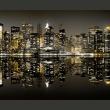 Fototapeta - Błyszczące wieżowce Nowego Jorku A0-LFTNT0716