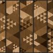 Fototapeta - Brązowy patchwork A0-WSR10m189