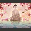 Fototapeta - Budda i magnolia A0-F4TNT0072-P
