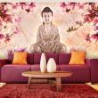 Fototapeta - Budda i magnolia A0-F5TNT0076-P