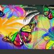 Fototapeta - Butterflies in the stomach A0-F4TNT0525