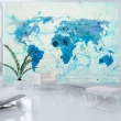 Fototapeta - Cruising and sailing -  The World map A0-LFTNT0468
