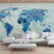Fototapeta - Cruising and sailing -  The World map A0-F4TNT0129-P