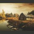 Fototapeta - Desolate hut A0-F4TNT0073-P