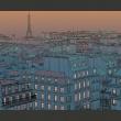 Fototapeta - Dobry wieczór Paryżu A0-LFTNT0711