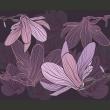 Fototapeta - Dreamy flowers A0-LFTNT0543