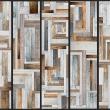 Fototapeta - Drewniany labirynt A0-WSR10m214