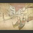 Fototapeta - Gondolas in Venice A0-LFTNT0678