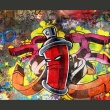 Fototapeta - Graffiti monster A0-F4TNT0004-P