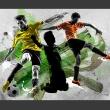 Fototapeta - Gwiazdy futbolu A0-450280new16