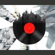 Fototapeta - Heavy sounds of the city A0-LFTNT0505