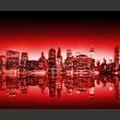 Fototapeta - Intensity of New York A0-LFTNT0700
