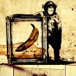 Fototapeta - Kolaż - Banksy A0-WSR10m442