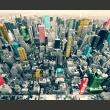 Fototapeta - Kolorowe refleksy w Nowym Jorku A0-LFTNT0732