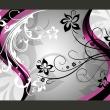 Fototapeta - Kwietne esy-floresy (różowy) A0-500280new02-P