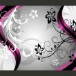 Fototapeta - Kwietne esy-floresy (różowy) A0-450280new05-P