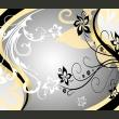 Fototapeta - Kwietne esy-floresy (żółty) A0-450280new06-P