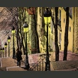 Fototapeta - Lonely walk through Montmartre A0-LFTNT0672