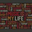 Fototapeta - Music is my life A0-LFTNT0491