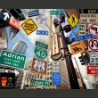 Fototapeta - New York signposts A0-LFTNT0713
