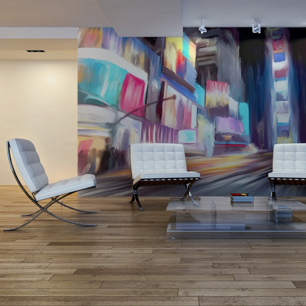 Fototapeta - Nowy Jork, dynamika i kolory (450x270 cm) A0-F4TNT0052-P