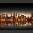 Fototapeta - Nowy Jork i złoto A0-LFTNT0695