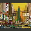 Fototapeta - Nowy Jork - miasto tętniące życiem A0-LFTNT0729