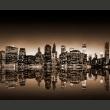 Fototapeta - Nowy Jork - sepia A0-LFTNT0696