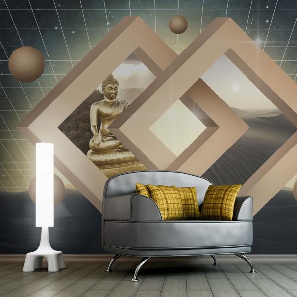 Fototapeta - Nowy wymiar buddyzmu (450x270 cm) A0-F4TNT0020-P