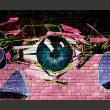 Fototapeta - oko (graffiti) A0-LFTNT0598