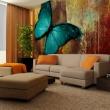 Fototapeta - Painted butterfly A0-F45TNT0011-P