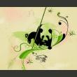 Fototapeta - Panda w lesie bambusowym A0-LFTNT0770