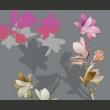 Fototapeta - Pastelowe magnolie A0-LFTNT0551