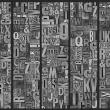 Fototapeta - Platynowa enigma A0-WSR10m418