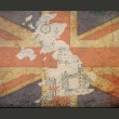 Fototapeta - Pocztówka z Wielkiej Brytanii A0-F4TNT0126-P