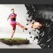 Fototapeta - Potęga futbolu A0-XXLNEW010255