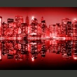Fototapeta - Red-hot NYC A0-LFTNT0723
