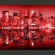 Fototapeta - Red-hot NYC A0-F5TNT0040-P