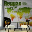 Fototapeta - Reggae in the world A0-LFTNT0789
