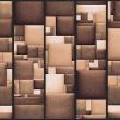 Fototapeta - Skórzana mozaika A0-WSR10m352