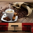 Fototapeta - Star anise coffee A0-F4TNT0522