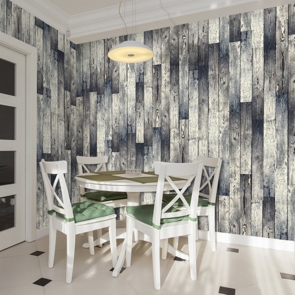 Fototapeta - Stara drewniana podłoga: gradient (50x1000 cm) A0-WSR10m336