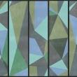 Fototapeta - Szare trójkąty A0-WSR10m196