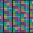 Fototapeta - Tęczowa układanka A0-WSR10m511