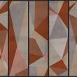 Fototapeta - Trójkąty -kompozycja A0-WSR10m195