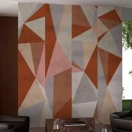 Fototapeta - Trójkąty -kompozycja (50x1000 cm)